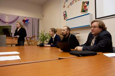 Организационное собрание, декабрь 2011 г.