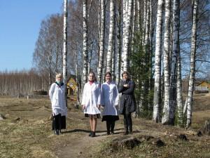 Поездка в Сяндемский монастырь, 2012 г.