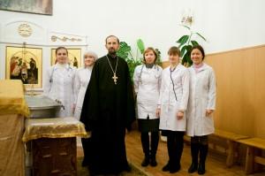 Консультативный прием в Крестовоздвиженском соборе, 2012 г.