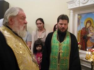 Молебен в часовне ДРБ, 2013 г.