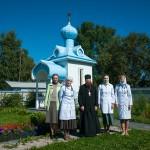 Рабочая поездка на подворье Ионо-Яшезерского монастыря, август 2013 г.