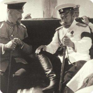 Е.С.Боткин и Императов Николай II