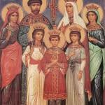 Святые Царственные Мученики, молите Бога о нас!