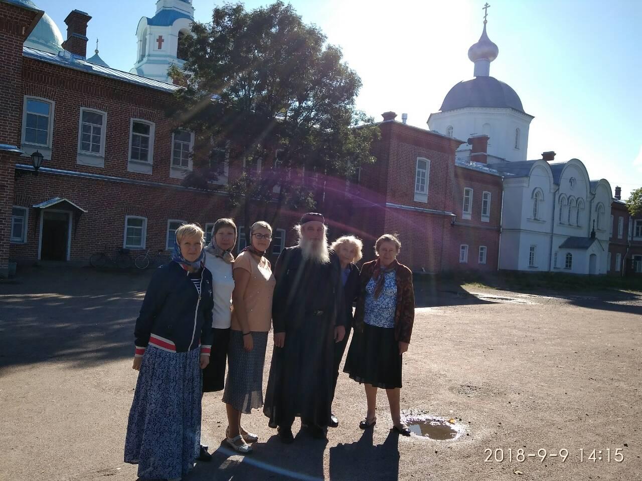 Рабочая поездка в Валаамский монастырь