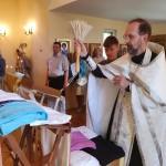Молебен с освящением медицинских халатов